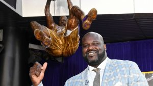 Shaq attack: Disses LaVar Ball in new rap song