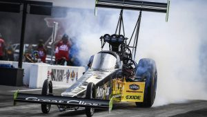 NHRA Four-Wide Nationals, Saturday results, Sunday elimination pairings