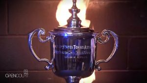The making of the US Open trophy