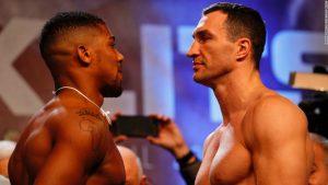 Heavyweights Joshua and Klitschko ready to rumble