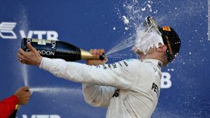 Bottas the toast of Finland after Russia win