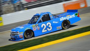 Chase Elliott wins hotly contested Martinsville NASCAR Camping World Truck Series race