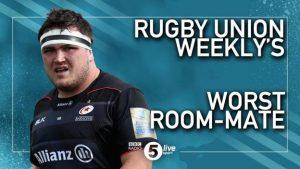 Jamie George: England & Saracens hooker says Mako Vunipola is 'worst room-mate'