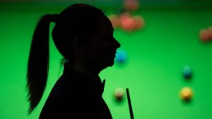 Evans trails to dampen historic Crucible hopes