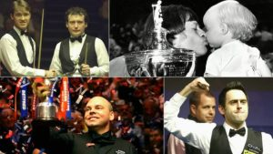 Higgins' tears, 147s & the black-ball final – vote for your most memorable Crucible moment