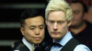 World Championship: Marcu Fu fights back to level with Neil Robertson