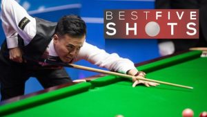 Five of the best shots as Marco Fu beats Neil Robertson at the World Championship