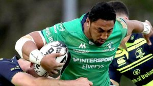 Three-game ban for Connacht centre Aki over referee comments