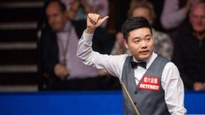World Championship 2017: Ding Junhui 'fantastic' 128 break against Mark Selby