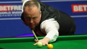 World Championship 2017: John Higgins on verge of semi-final win over Barry Hawkins