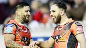 Castleford thump Wigan to reclaim top spot