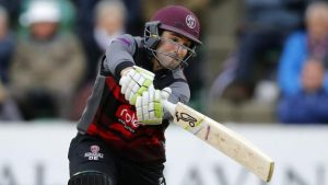 One-Day Cup: Dean Elgar hits an unbeaten 131 to help Somerset overcome Sussex
