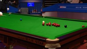 World Championship final: John Higgins goes plant-potty at Crucible