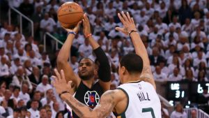 Clippers avoid disaster for once as Chris Paul helps force a Game 7 vs. Jazz