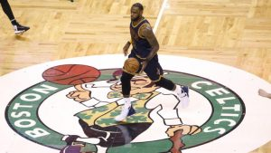 LeBron James quiets Boston, noise about Cavaliers in dominant victory