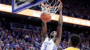 UK's Adebayo to enter draft but not hire agent