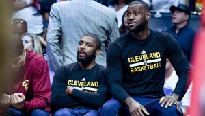 No rest for LeBron, Kyrie until 1-seed clinched