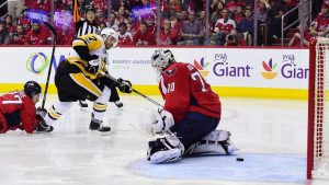 Capitals' Trotz not ready to name Game 3 goalie