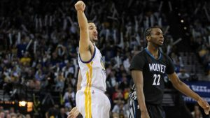 Warriors' Klay Thompson credits sunny weather for his hot hand, 41-point game