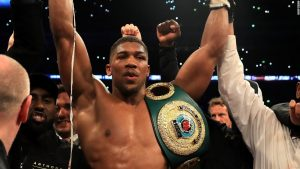 Mike Tyson says 'sky is limit' for Anthony Joshua