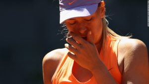 Sharapova not given wildcard to play at French Open