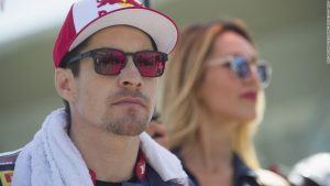 Ex-MotoGP champion 'critical' after cycling crash