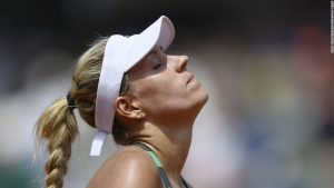 French Open: Top seed Angelique Kerber suffers first round shock