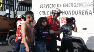 Four killed in stampede at football final in Honduras
