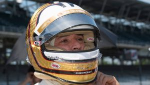 Indy 500 hopeful Helio Castroneves has ace up his sleeve in bid for fourth win