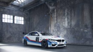 Hit the track in a BMW factory race car