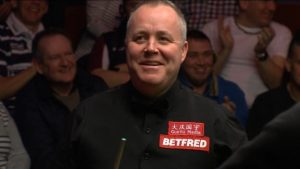 World Snooker Championship: Watch John Higgins' incredible triple foul
