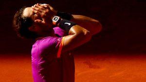Nadal ends losing run against Djokovic to reach Madrid final