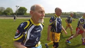 Masters Rugby League: Mike Bushell discovers how it works through the colour of the shorts