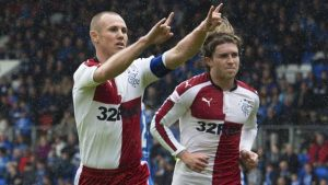 Rangers sign off with win over St Johnstone