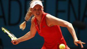 Wozniacki withdraws during Strasbourg opener