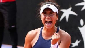 Watson one win from qualifying for French Open