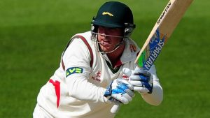 County Championship: Leicestershire pile up the runs on day one at Derby