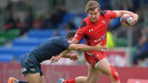 Jason Harries: Edinburgh sign wing from London Scottish