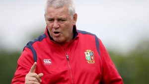 British and Irish Lions: Gatland relishing 'daunting' challenge in New Zealand