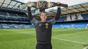 Premier League winner Chelsea get WWE championship belt, congrats from Triple H
