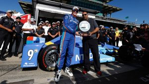 Starting lineup for 101st running of the Indy 500: Scott Dixon, Honda on the pole