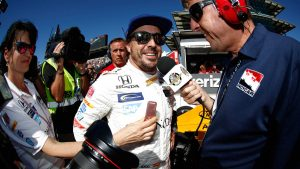 F1's Fernando Alonso qualifies fifth for first Indy 500