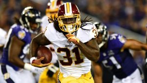 Redskins RB Jones prefers release or trade