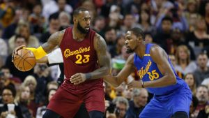 LeBron eyes another Finals 'challenge' vs. GS