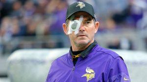 Vikings coach Zimmer had 8th surgery on eye