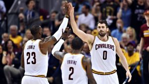Love: Cavs' underdog label 'funny to me'