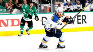 Ott goes from ice to behind bench, joining Blues