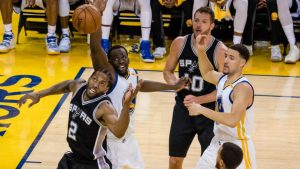Spurs-Warriors Takeaways: Golden State uses huge second-half rally to take Game 1