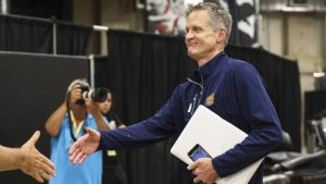 2017 NBA Finals: Warriors' Steve Kerr will not coach vs. Cavs 'as of right now'