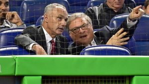 Commissioner Manfred: Marlins bidders close in price, rest up to Jeffrey Loria